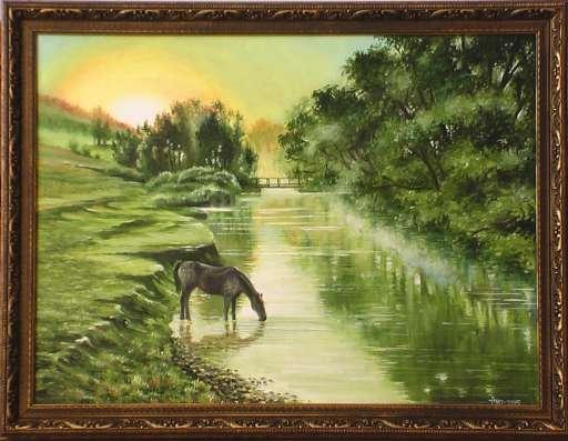Картина маслом. Красивые пейзажи в наличии. в Омске Фото 4