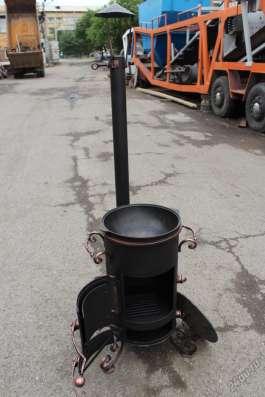 Печь под казан с трубой в Красноярске Фото 3