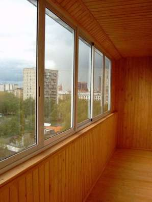 Остекление лоджий и балконов, пластиковые окна. в Екатеринбурге Фото 1