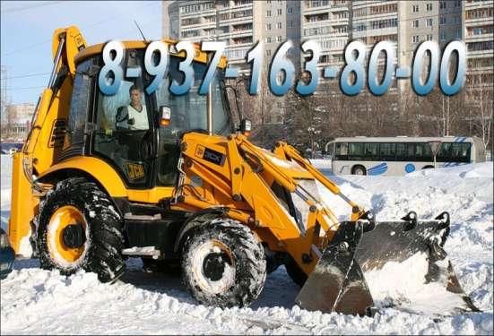 Уборка снега, очистка и вывоз снега Уфа