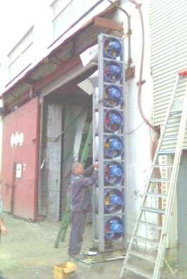 Энергосберегающие воздушные завесы ЗВШ в Екатеринбурге Фото 2