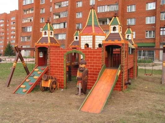 Игровые комплексы из дерева