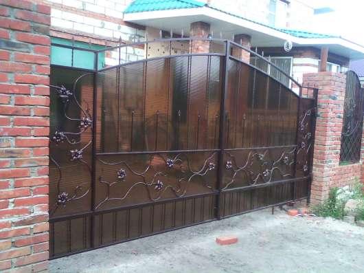 кованый забор, ворота, лестницы, перила... в Саратове Фото 1