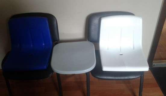 Пластиковые сиденья для спортсооружений.