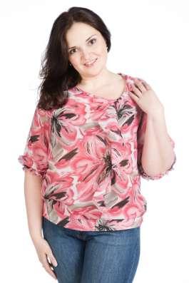 Трикотажные блузки оптом