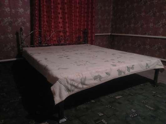Кровать двуспальная (ручная ковка)