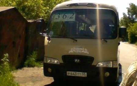 Автобус Hyundai на заказ