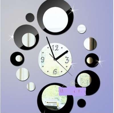 Оригинальные настенные часы из акрила