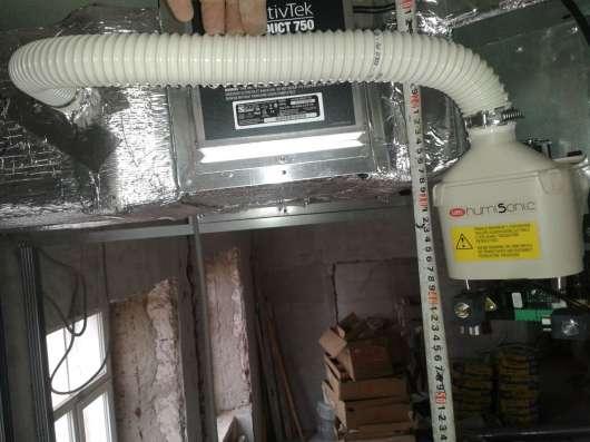 Вентиляция и кондиционирование, воздушное отопление.