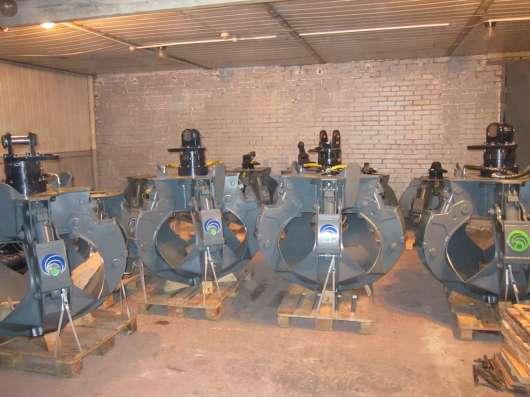 Грейфер для металлолома 600 литров (Италия) с ротатором GR16 в Москве Фото 1