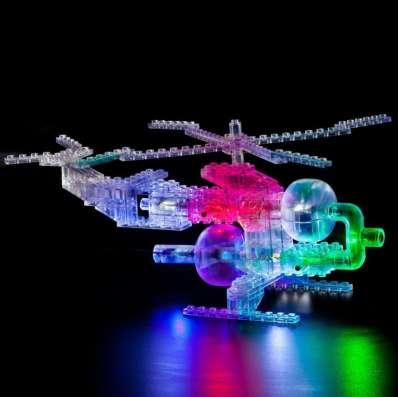 Конструктор со светодиодами Набор «Вертолет» Набор (6 в 1)