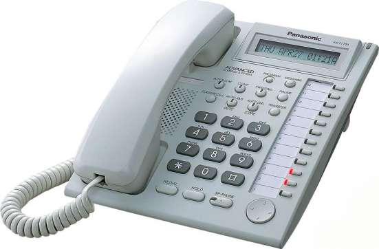 KX-T7730RU - аналоговый системный телефон Panasonic (4-пров