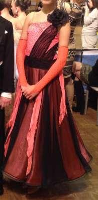 Платье стандарт для спортивно-бальных танцев