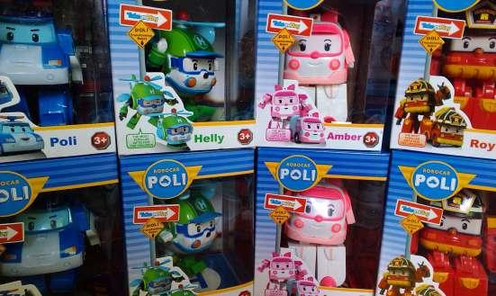 Игрушки Робокар Поли. Щенячий патруль