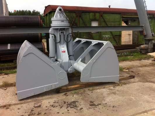 Грейфер для погрузки сыпучих материалов – угля, песка, щебня в Москве Фото 1