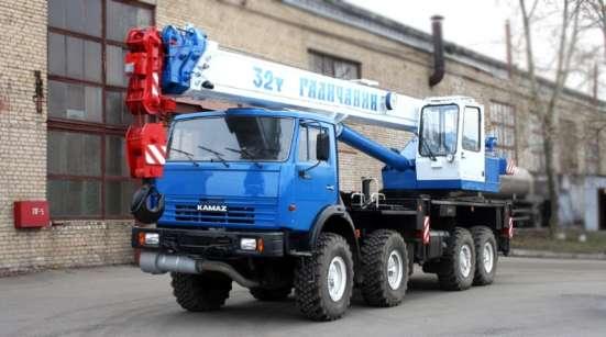 Автокран 30 тонн 40 метров стрела