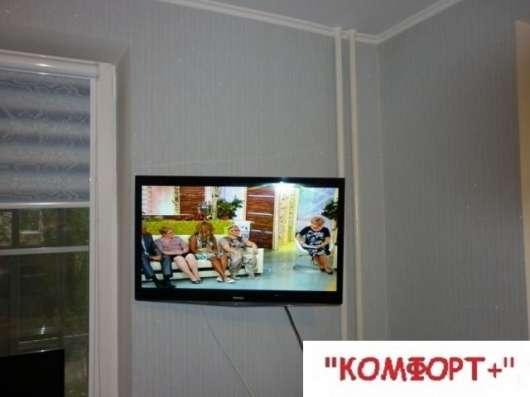 Навешивание телевизора