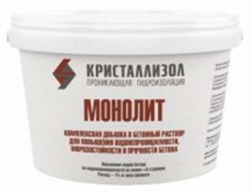 Кристаллизол Монолит – гидроизоляционная добавка для бетона.