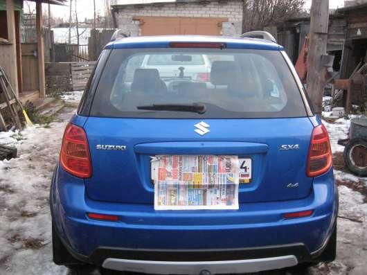 Продажа авто, Suzuki, SX4, Механика с пробегом 70000 км, в Сургуте Фото 3
