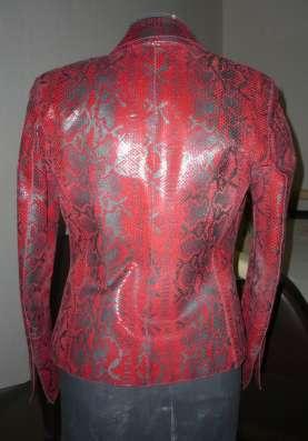 Натуральная кожаная женская куртка в Шадринске Фото 3