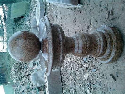 Из натурального гранита.Вазы,чаши,шары,фонтаны разной формы. в г. Кордай Фото 1