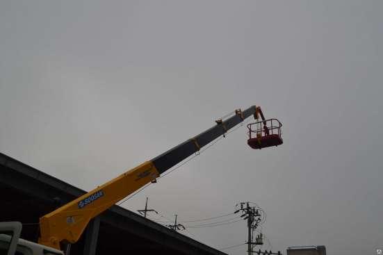 Бортовой грузовик Hyundai hd120 с манипулятором Soosan SCS 3 в Красноярске Фото 3