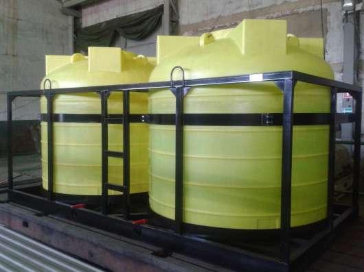 Емкости в каркасе для воды и технологических растворов в г. Самара Фото 3