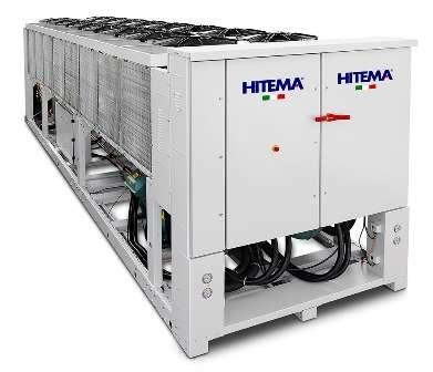 Чиллер Hitema c воздушным охлаждением