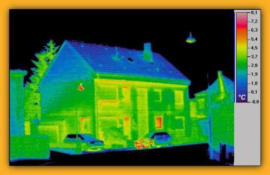 Тепловизионная диагностика состояния жилья в г. Мариинск Фото 2