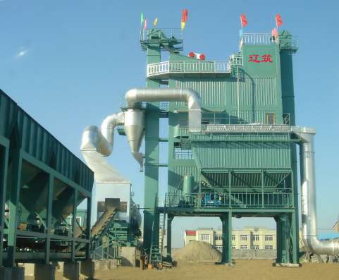 Асфальтобетонный завод серии LB в Владивостоке Фото 3