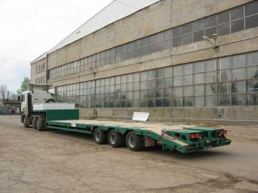 Заказ, аренда - Трал-низкорамник до 50тонн в Новосибирске Фото 1