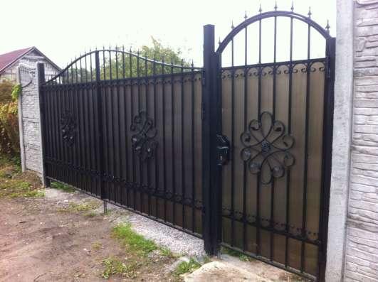Ворота Калитки металлические