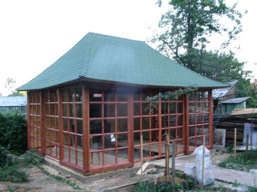 строим сауны бани дома