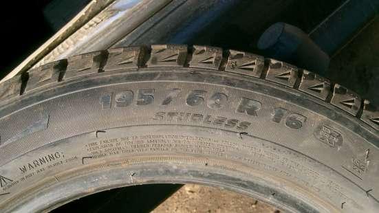 "Продаю шины зимние Michelin X-ICE-2 195/60 R16 "" липучка "" в Орехово-Зуево Фото 1"