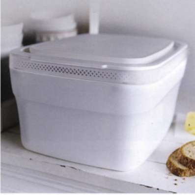 Умная хлебница новая без доски Tupperware
