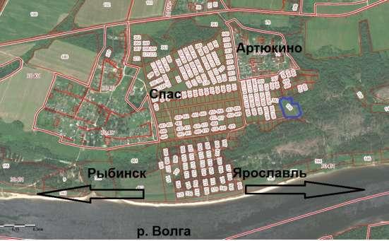родаю участок ИЖС, 1,3 га (130 сот.) 15 км. от Рыбинска