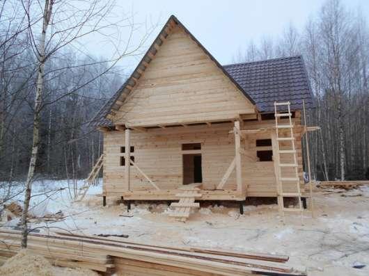 Строительство домов из бруса, профилированного бруса. в Воскресенске Фото 2