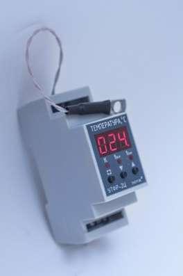 Устройства автоматики реле датчики счетчики терморегуляторы