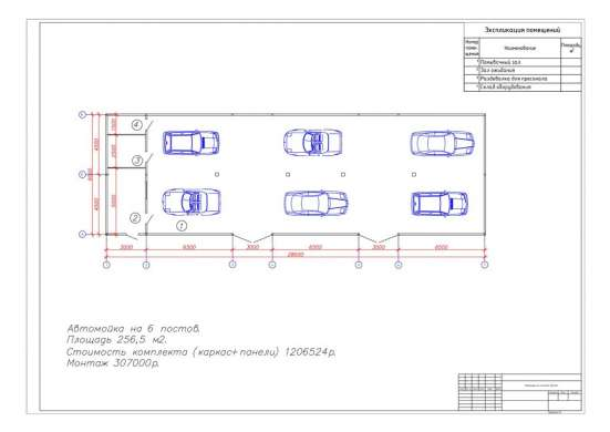 Построить, автомойку, 6, постов, металлоконструкции, изготов
