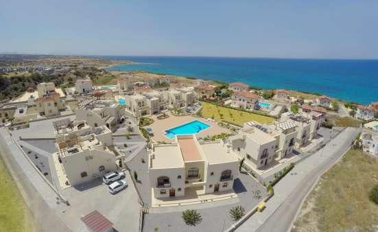 Продаются двухуровневые апартаменты г.Кирения, Бахчели.