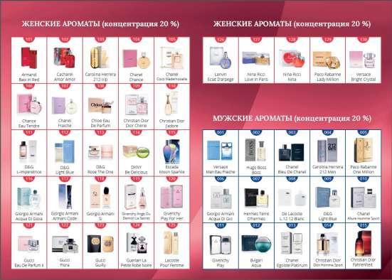 Номерная парфюмерия Armelle в Хабаровске Фото 1