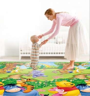 Термоковрик для детей. Для ползания и игр на полу дома и на природе
