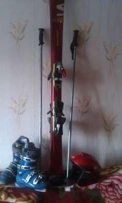 Горнолыжный комплект (лыжи, палки лыжные, ботинки, шлем) в Санкт-Петербурге Фото 4