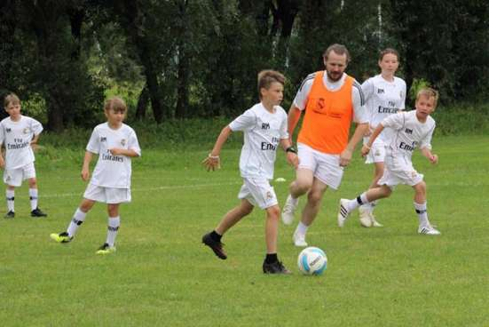 Футбольный лагерь Реал Мадрид в России
