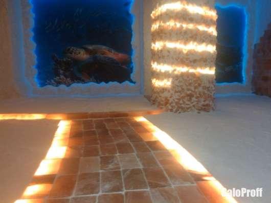 Проектирование и строительство бассейнов, соляных комнат, ха