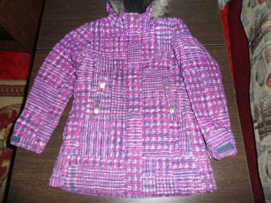 Куртка-пальто на рост 128-134 зима