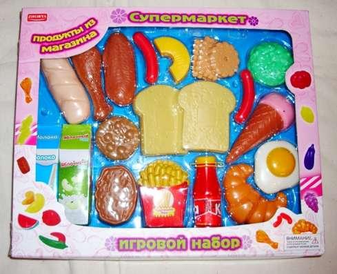 Продукты, игровой набор 23 штуки для игры в супермаркет в Москве Фото 1