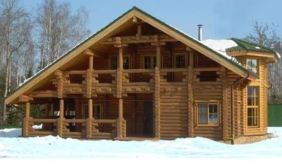 Строительство деревянных домов из северного леса