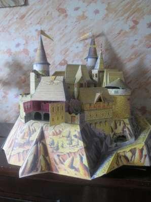 Игрушечные домик и замки из картона в Екатеринбурге Фото 3