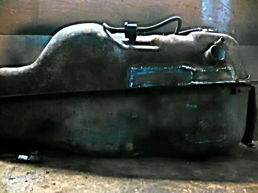 ремонт и сварка бензобака Мицубиси Паджеро в Москве Фото 2
